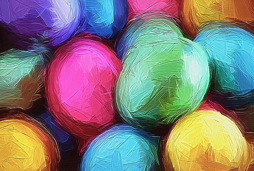 Steve Ohlsen - Easter Egg Paint - Abstract
