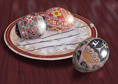 Easter Eggs by Michelle Moroz-Chymy