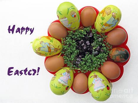 Easter Greeting Card by Ausra Huntington nee Paulauskaite
