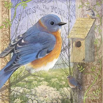 Eastern Bluebird by Sharon Marcella Marston