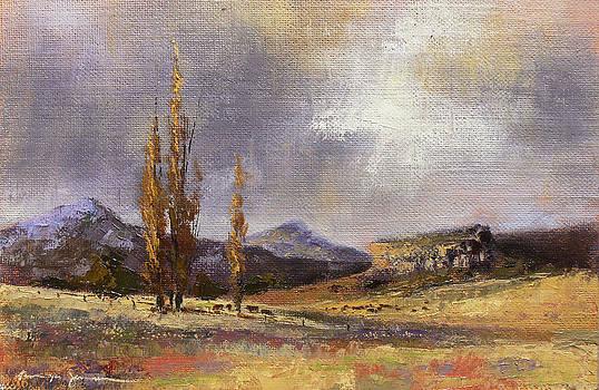 Eastern Free State scene by Tanya Jansen
