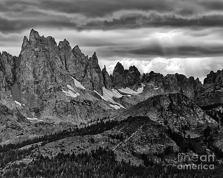 Eastern Sierras Summer Storm 2 by Terry Garvin