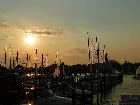 Eastport Boats  by Jennifer Wheatley Wolf