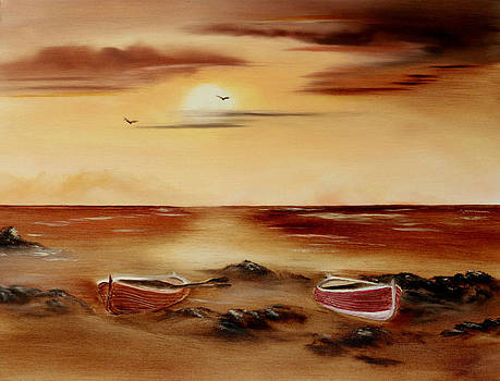 Ebb Tide and Stranded by Cynthia Adams