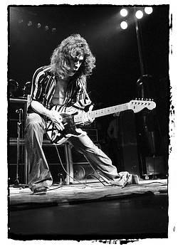 Eddie Van Halen by Sue Arber