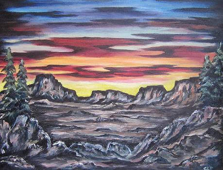 Edge of the Desert by Cheryl Pettigrew