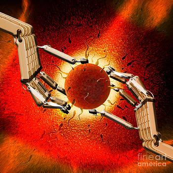 Mike Agliolo - Egg Sperm Robot Hands