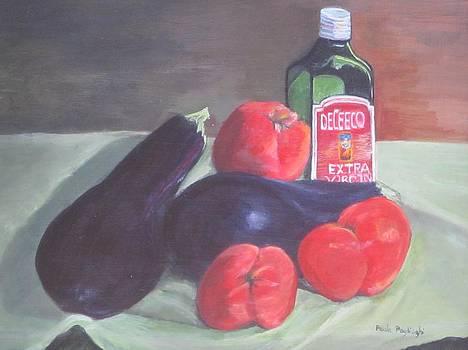 Eggplant Parmesan by Paula Pagliughi