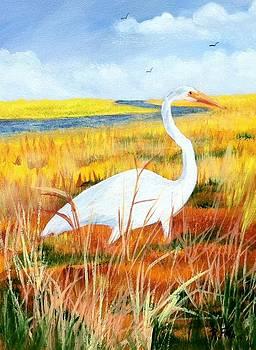 Egret by Rich Fotia