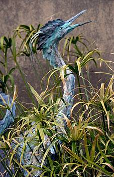 Maria Urso  - Egret Statue