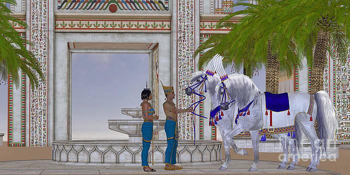 Corey Ford - Egyptian Horses