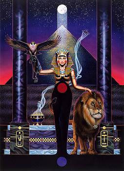 Egyptian Queen by Tim  Scoggins