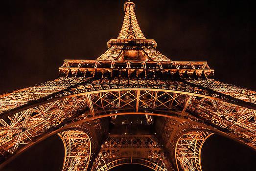 Eiffel Tower by Night by Preston Coe