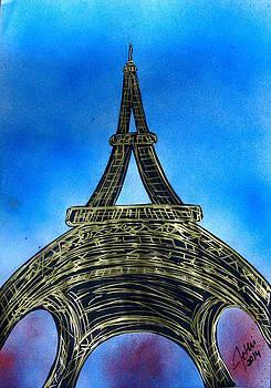 Eiffel Tower by Fethi Canbaz