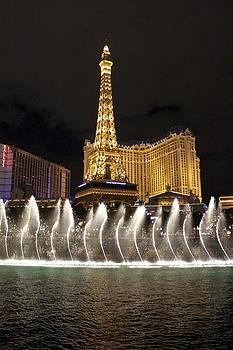 The Paris Hotel Las Vegas Nevada by Lisa Anne McKee