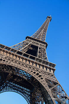 Eiffel Tower Looming by Amy Bynum