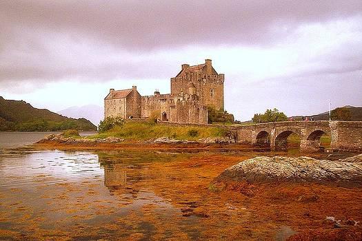Eilean Donan Castle Scotland by Bill Lighterness