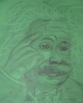 Einstein card by Manuela Constantin