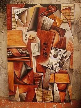 Einstein played the violin by Lucas Salgado