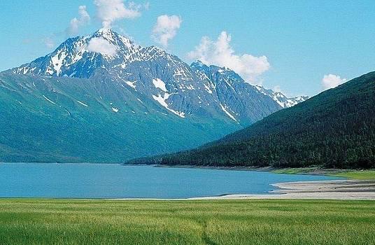 Eklutna Lake by Ginger Bear