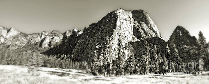 Gregory Dyer - El Capitan - Yosemite - black and white