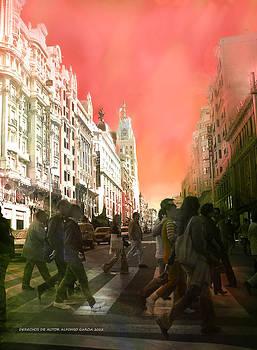 El Cielo de Madrid  by Alfonso Garcia