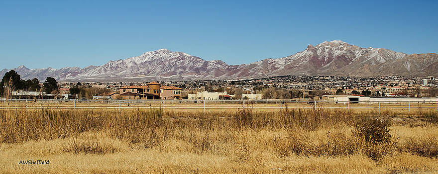 Allen Sheffield - El Paso and Franklin Mountains