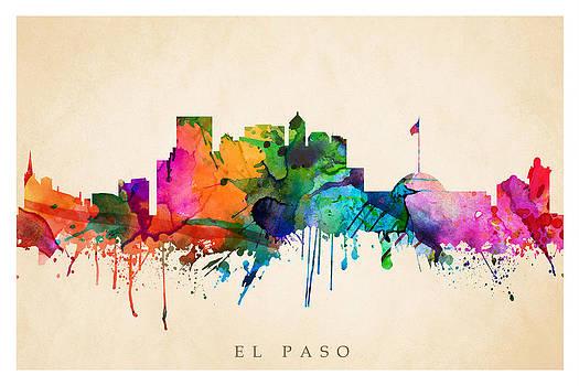 El Paso Cityscape by Steve Will