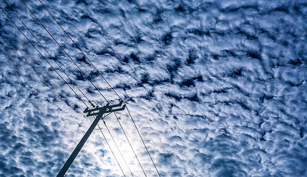 Electric Cloud Wire by Janice Sullivan