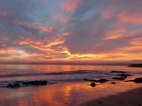 Electric Monterey Sunrise  by Keeza Starr