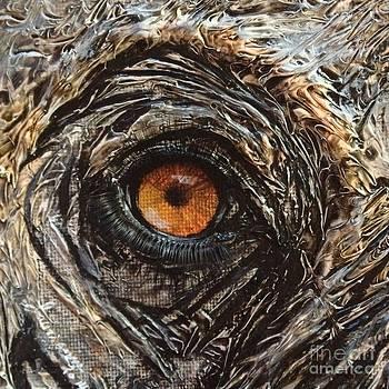 Elephant eye by Laurianna Taylor