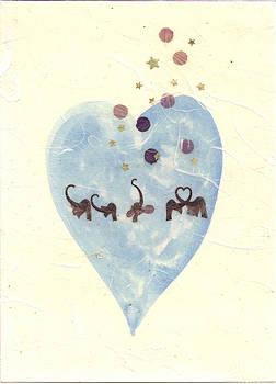 Elephant Head Heart by Karen Nelson