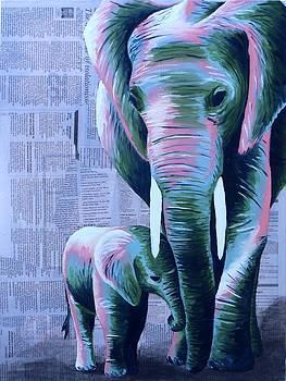 Elephants by Dara Jones