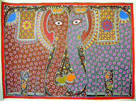 Elephants by Neeraj kumar Jha
