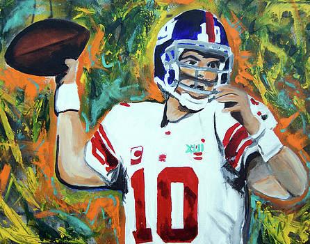 Eli Manning by Ottoniel Lima