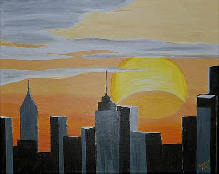 Elipse at Sunrise by Donna Blossom