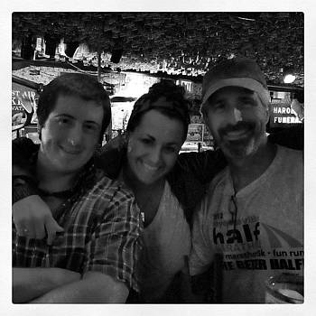 Elise, Drake, And Josiah At Mcguires by Nadine Rippelmeyer