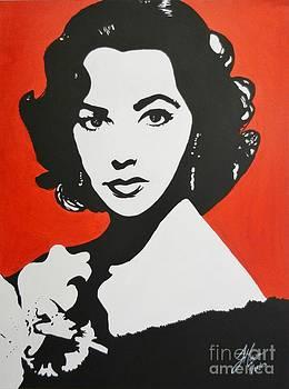 Elizabeth Taylor by Juan Molina