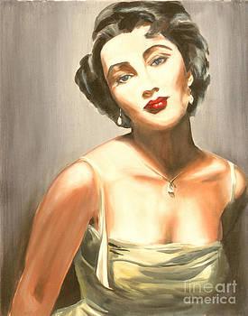 Elizabeth Taylor by MiPortafolio Digital