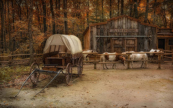 Elk Horn Livery Stable by Robin-lee Vieira