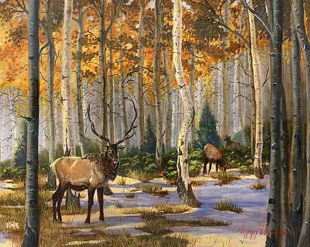 Jeff Brimley - Elk in the Gold
