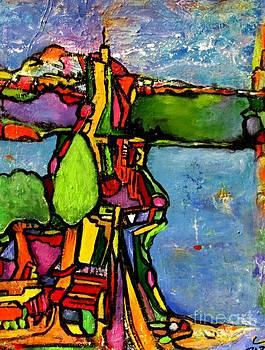 Elliott Bay by Chaline Ouellet
