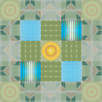 Ellipse Quilt 1 by Kevin McLaughlin
