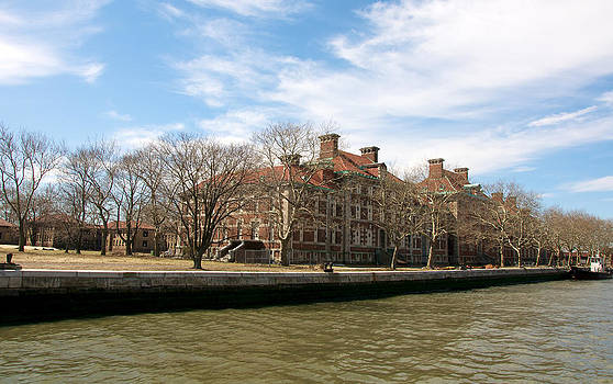 Ellis Island Immigrant Hospital by Kimberly Long