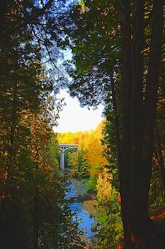 Elora gorge by Peter Jackson
