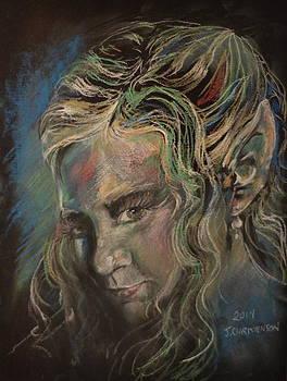 Elven Portrait of Erika by Jennifer Christenson