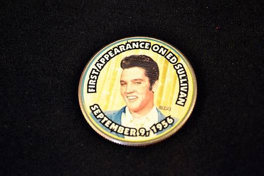 Elvis on Ed Sullivan by Michael Sokalski