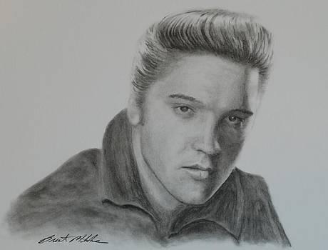 Elvis Presley by Brent  Mileham