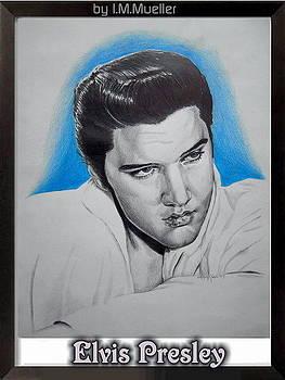 Elvis Presley by Iracema Marianne Muller