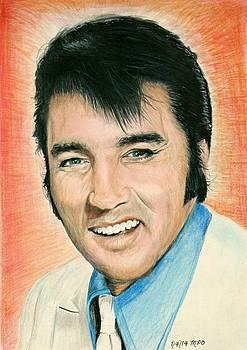 Elvis Presley by Mick ODay